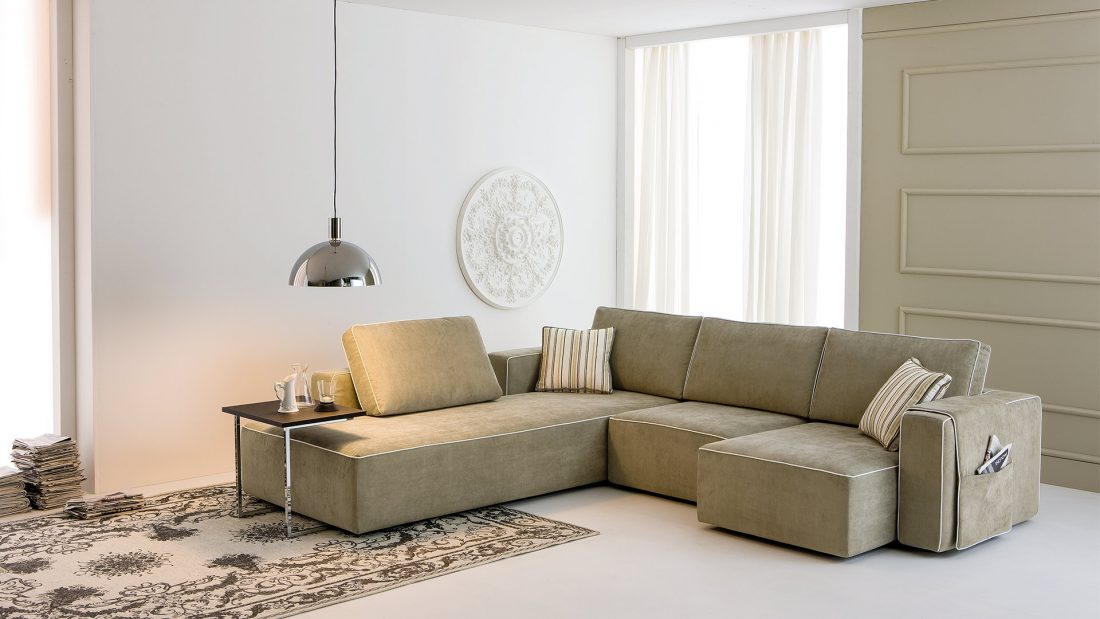 divano angolare bold morbidline
