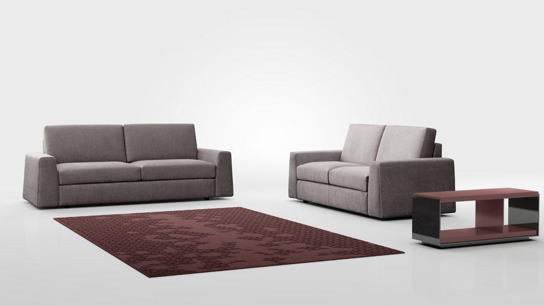 divano moderno promo cleveland tessuto