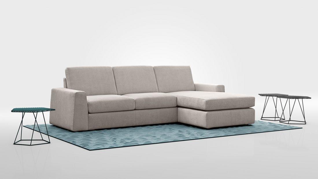 divano moderno promozione cleveland tessuto