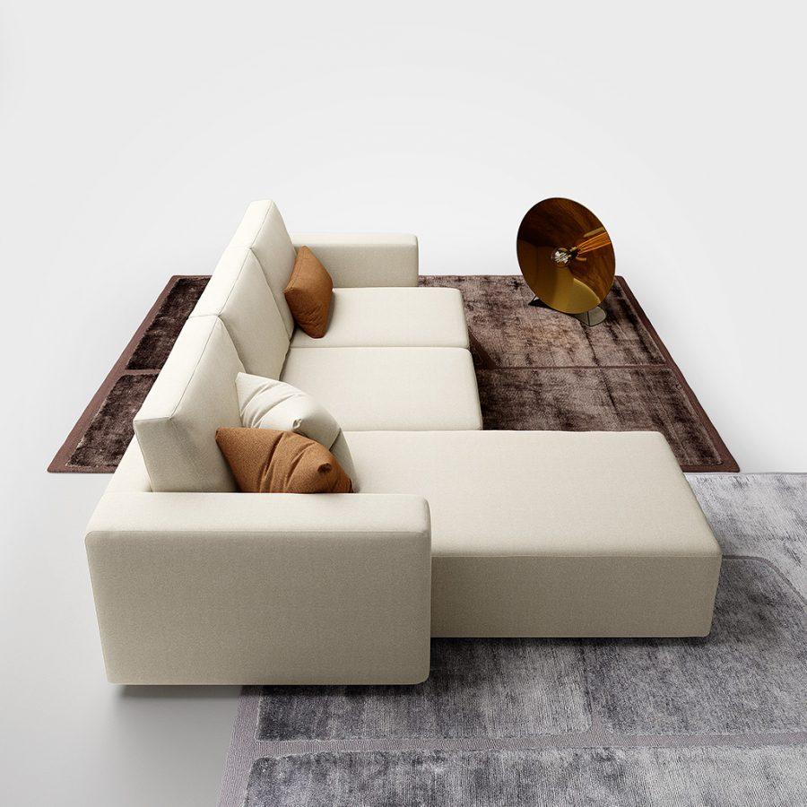 divano moderno bold promo tessuto