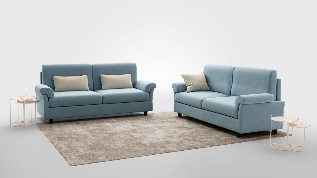 divano poco profondo promozione linus