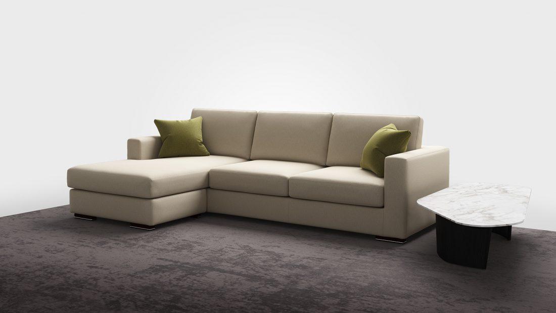 divano moderno reversibile miami